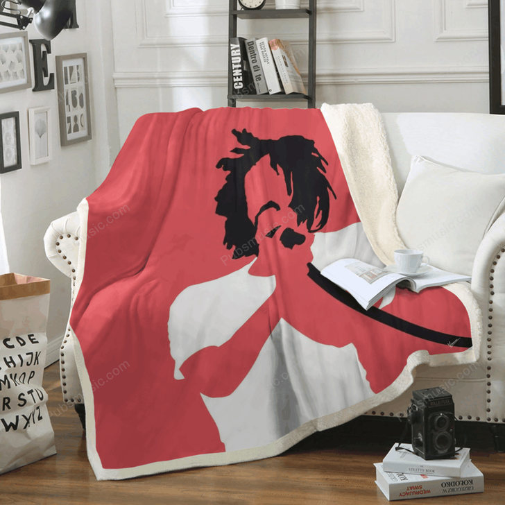 No102 MY Counting Crows Minimal Music Artwork - Minimal Music Artworks Art For Fans Sherpa Fleece Blanket