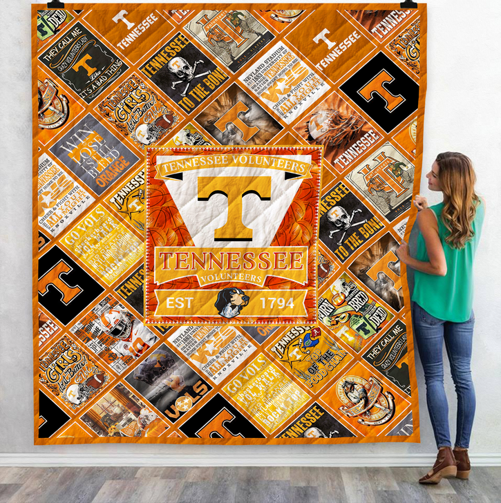 Tennessee 3D Quilt Blanket