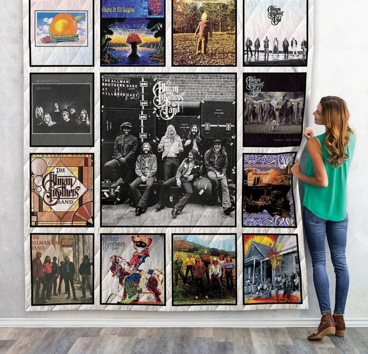 The Allman Brothers Band Albums Sherpa Fleece Blanket 01 on Sale Now