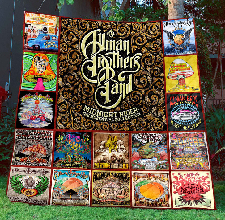 The Allman Brothers Band  Sherpa Fleece Blanket TH1507