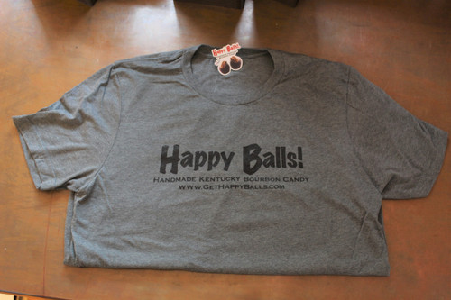 Happy Balls! T-Shirt (Grey)