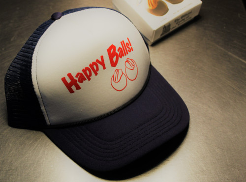 Happy Balls! Trucker Hat