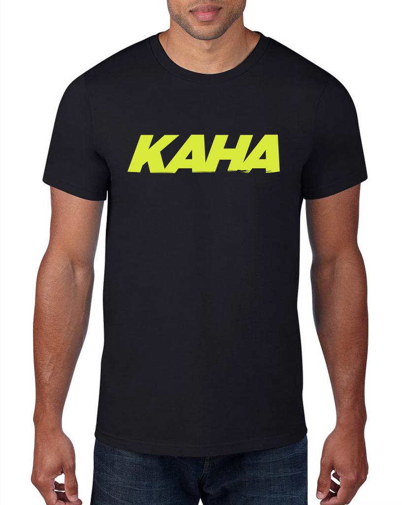 """Kaha Mens """"Black"""" T-Shirt"""