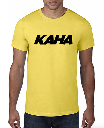 "Kaha Mens ""Yellow"" T-Shirt"