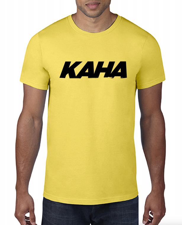 """Kaha Mens """"Yellow"""" T-Shirt"""