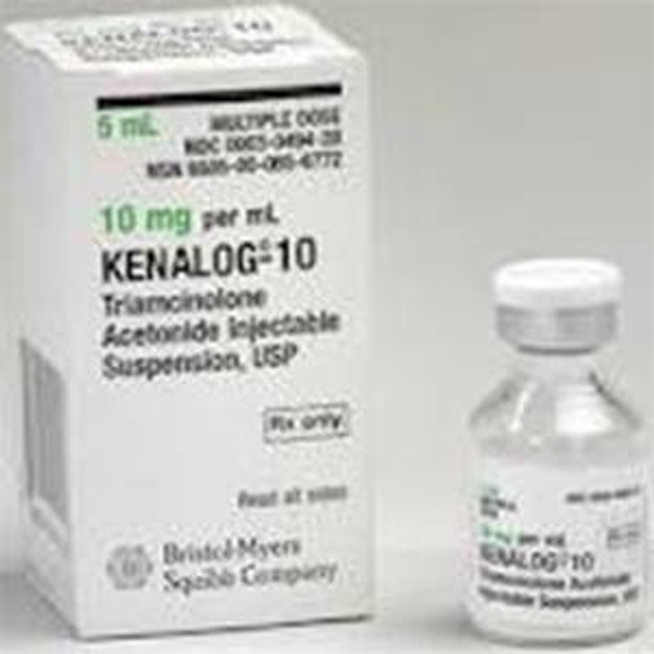 Kenalog-10 10mg/mL Injection - 5mL/Vial - Modern Medical Products