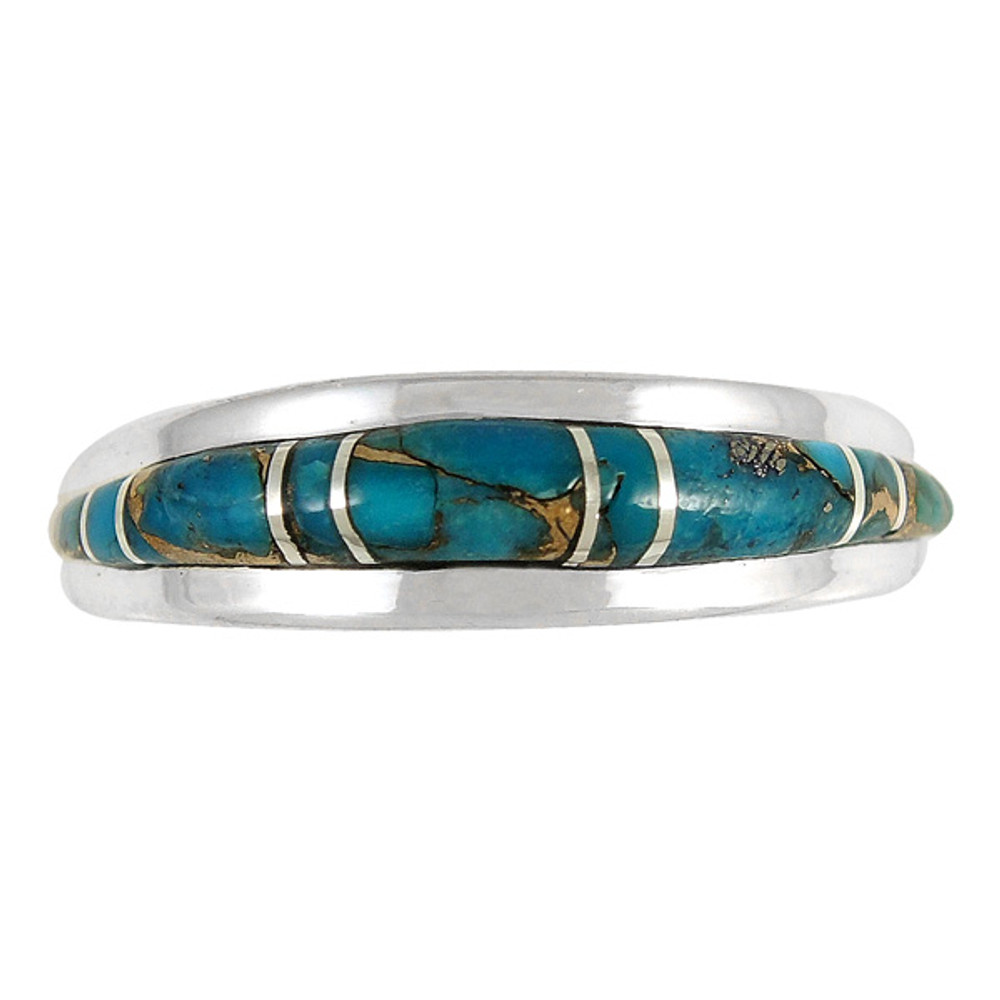 Matrix Turquoise Ring Sterling Silver R2264-C84