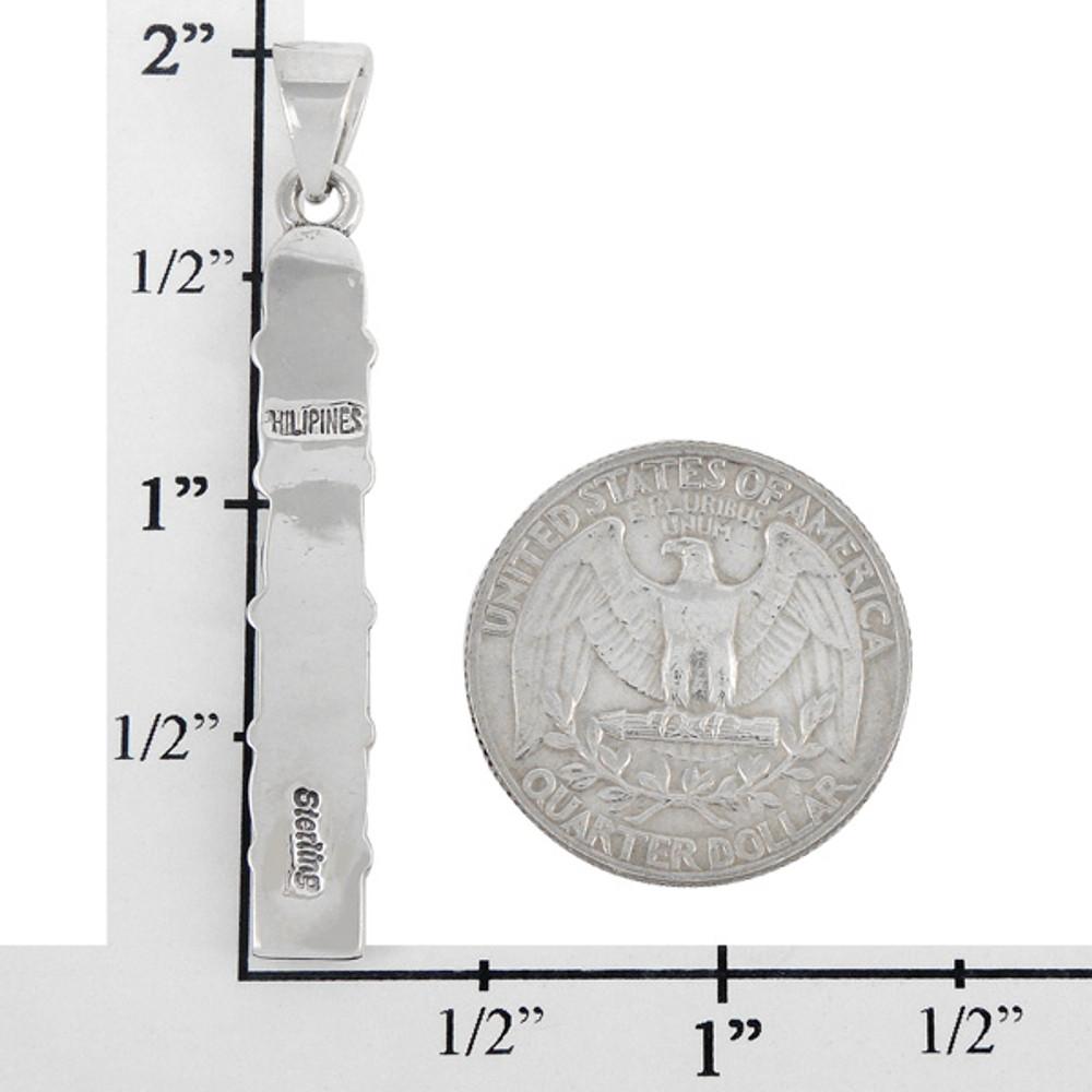 Sterling Silver Pendant Multi Gemstone P3140-C71