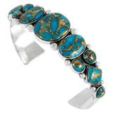 Matrix Turquoise Bracelet Sterling Silver B5491-C84