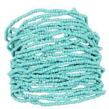 Faux Beaded Bracelet Aqua Blue YB8001-C1