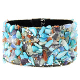 Faux Wrap Bracelet Multicolor YB8002-C3