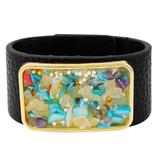 Faux Leather Bracelet Multicolor YB8003-C3