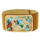 Faux Fur Bracelet Multicolor YB8006-C3