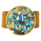 Faux Fur Bracelet Multicolor YB8007-C3
