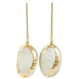 Faux Shell Drop Earrings YE7004-C1