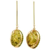 Faux Shell Drop Earrings YE7004-C2