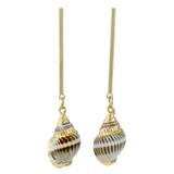 Faux Shell Drop Earrings YE7004-C3