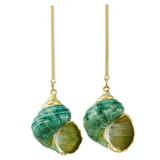 Faux Shell Drop Earrings YE7004-C5