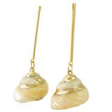 Faux Shell Drop Earrings YE7004-C4