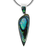 Abalone Pendant Jewelry Sterling Silver P3225-C10