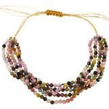 Rose Quartz Beads Bracelet YB8011-C1