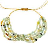 White Quartz Beads Bracelet YB8011-C2