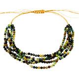 Earthtone Quartz Beads Bracelet YB8011-C3