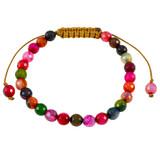 Multicolor Agate Bracelet YB8015-C5