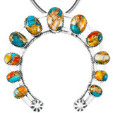 Spiny Turquoise Naja Pendant Sterling Silver P3278-C89