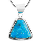 Turquoise Pendant Jewelry Sterling Silver P3282-C87