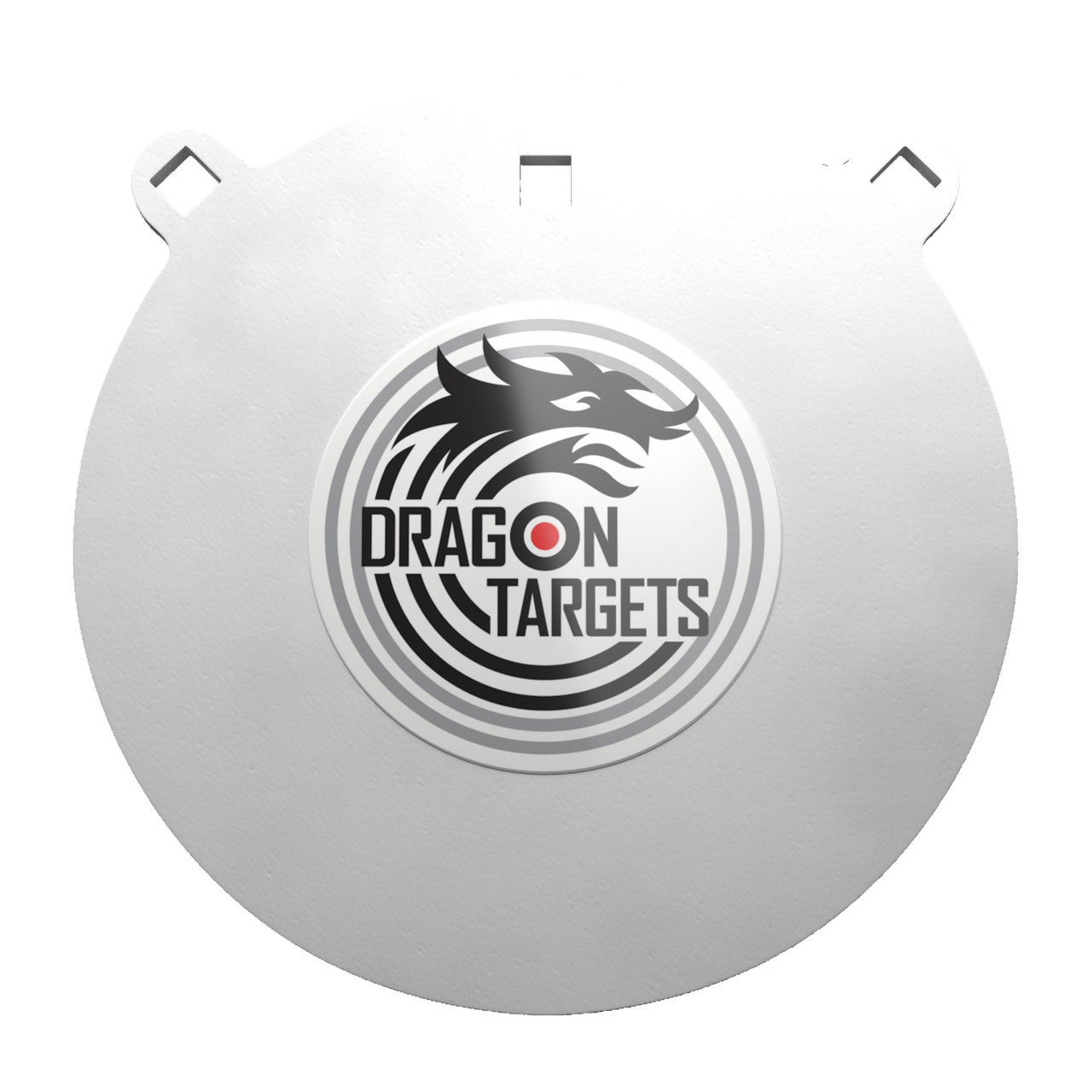 "Dragon Targets 10""x 3/8"" Gong  AR500 Steel Shooting Target"