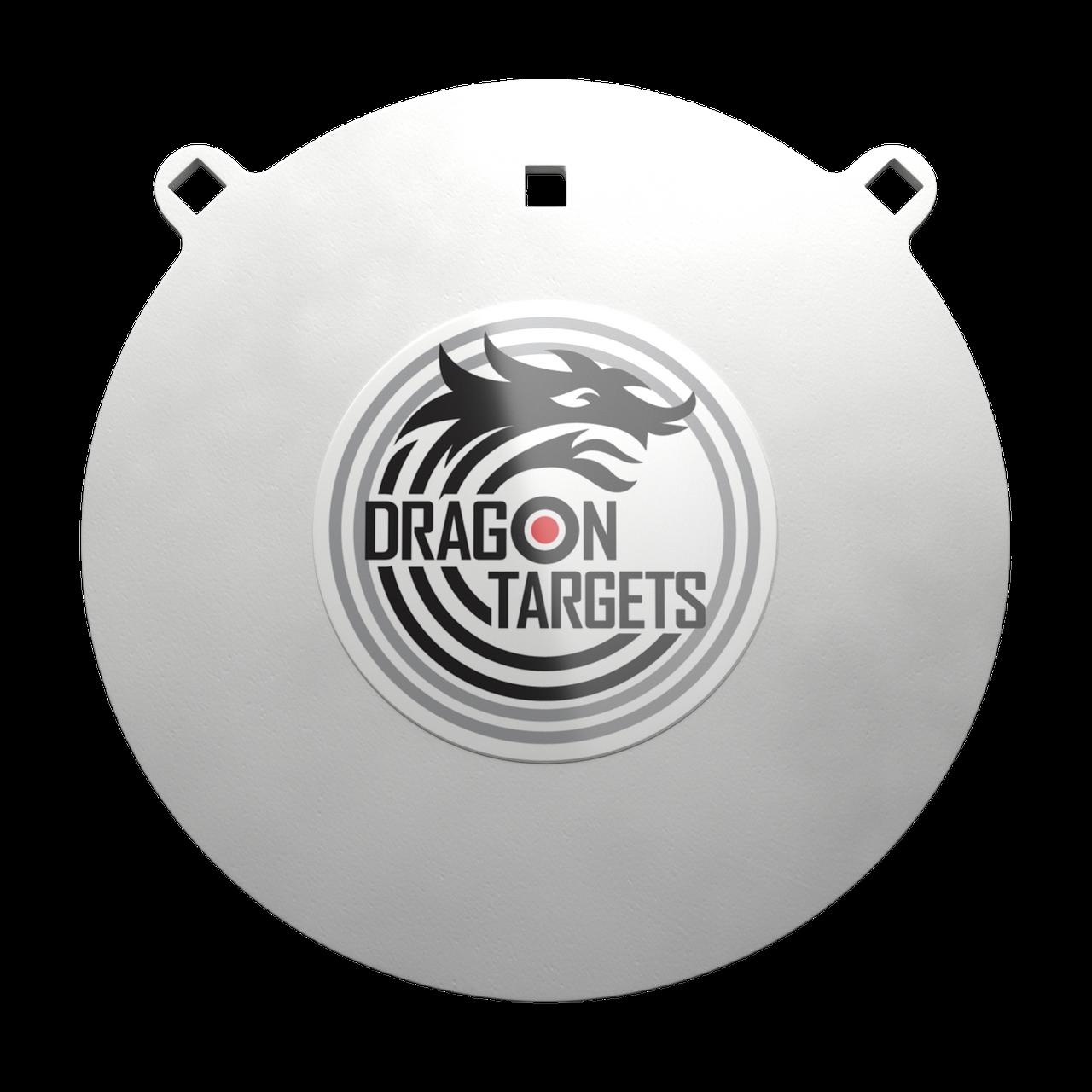 "Dragon Targets 12"" x 3/8"" Gong AR500 Steel Shooting Target"