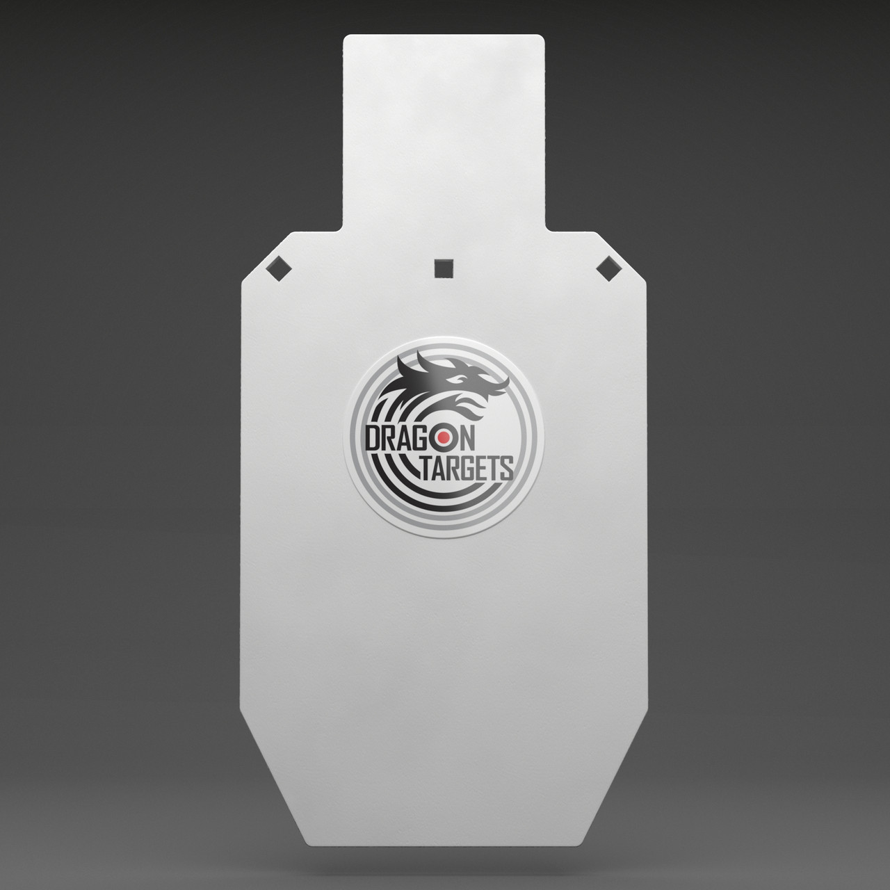 "Dragon Target AR500 Steel Shooting Torso Target 12""X24""X 1/2"""