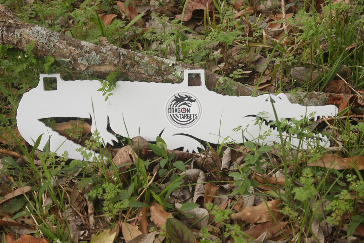 "Dragon Targets Alligator 3/8"" AR500 Steel Shooting Target"