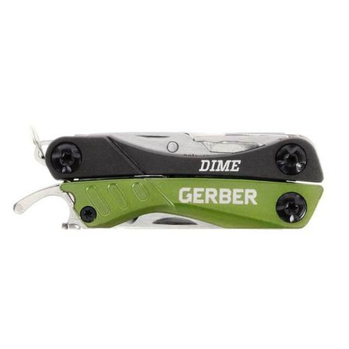 Gerber Dime Micro 10-In-1 Green Multi-Tool