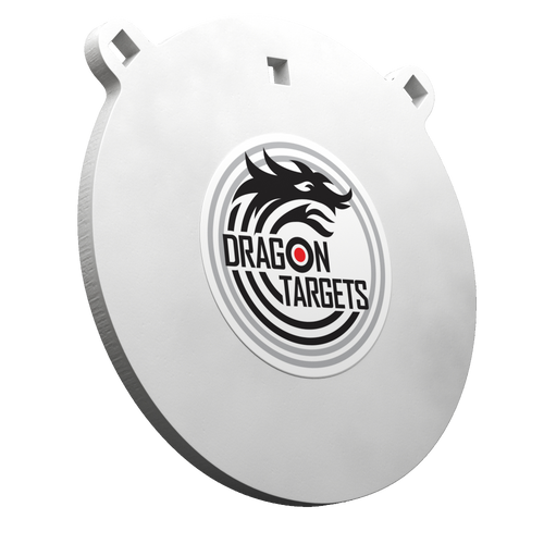 """Dragon Targets 10"""" x 1/2""""  Gong AR500 Steel Shooting Target 1/2"""" Thick"""