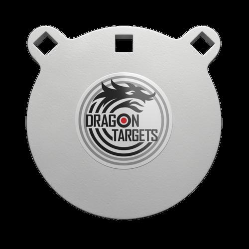 "Dragon Targets 6"" x 1/2"" Gong AR500 Steel Shooting Target"