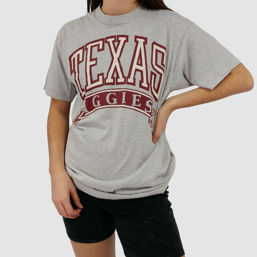 BUTTERY SOFT VINTAGE TEXAS A&M AGGIES TEE