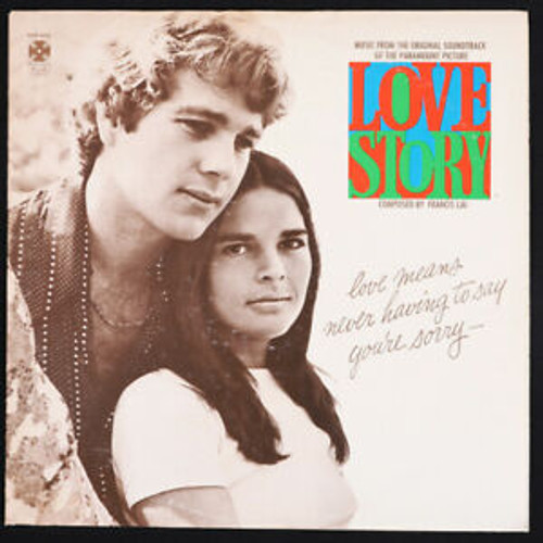 LOVE STORY SOUNDTRACK LP Vinyl Record