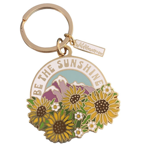 Be the Sunshine Enamel Keychain