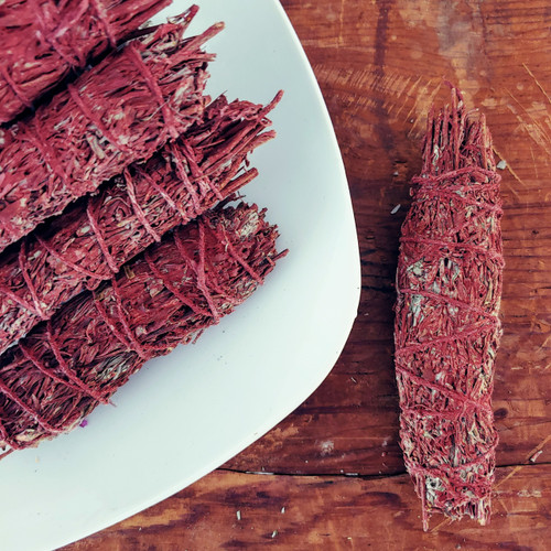 DRAGON'S BLOOD WHITE SAGE SMUDGE STICK
