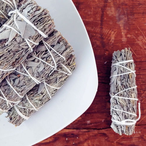 WHITE SAGE (GRANDFATHER SAGE) SMUDGE STICK