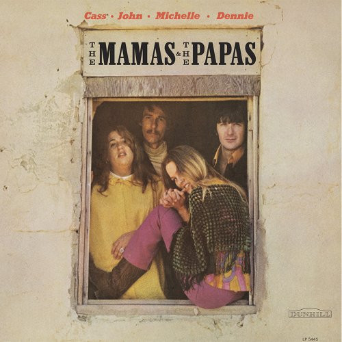THE MAMAS & THE PAPAS ~ SELF TITLED~ VINTAGE VINYL