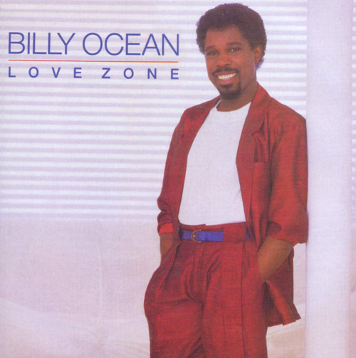 BILLY OCEAN ~ LOVE ZONE ~ VINTAGE VINYL