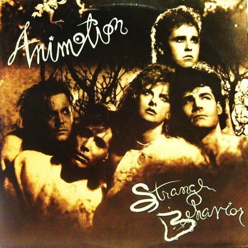ANIMOTION ~ STRANGE BEHAVIOR ~ VINTAGE VINYL