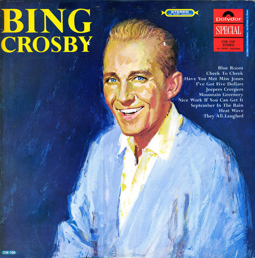 BING CROSBY ~ SELF TITLED ~ VINTAGE VINYL