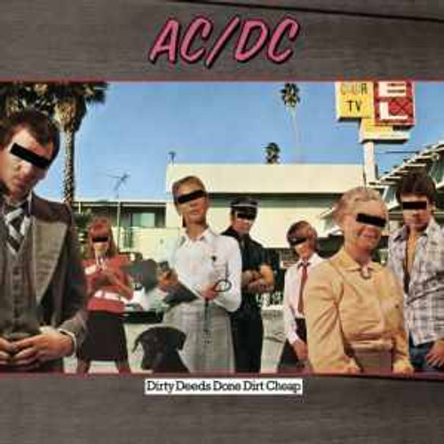 AC/DC ~ DIRTY DEEDS DONE DIRT CHEAP ~ NEW VINYL