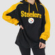 OVERSIZED VINTAGE PITTSBURGH STEELERS HOODIE - XL