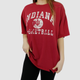 DISTRESSED VINTAGE INDIANA UNIVERSITY BASKETBALL TEE