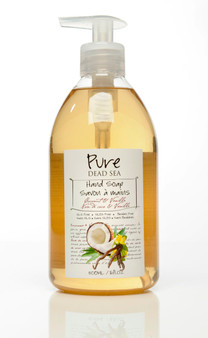 Pure Dead-Sea Vanilla Coconut Hand Soap